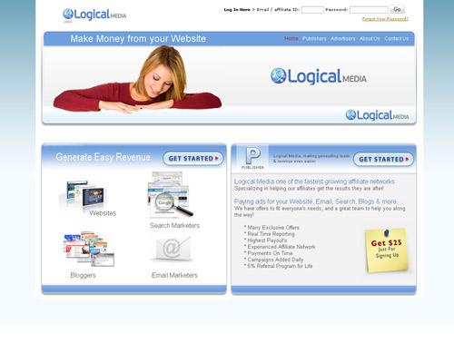 дизайн сайта logical